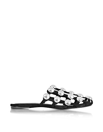 Black Sandals 301117001 Women's Leather Alexander Wang nqzTxzwR
