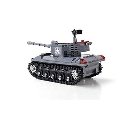 Battle Brick Custom M18 Hellcat US Army Tank World War 2 Hand Sorted Set: Toys & Games