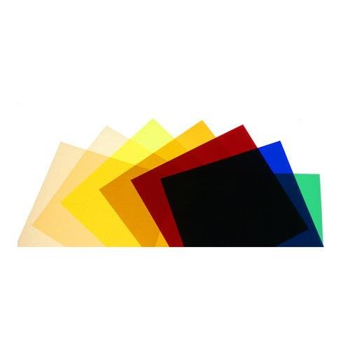 Norman CG-10 Color Gel Filter Pack with 7 High-Temperature 10'' Square Filters. by Norman