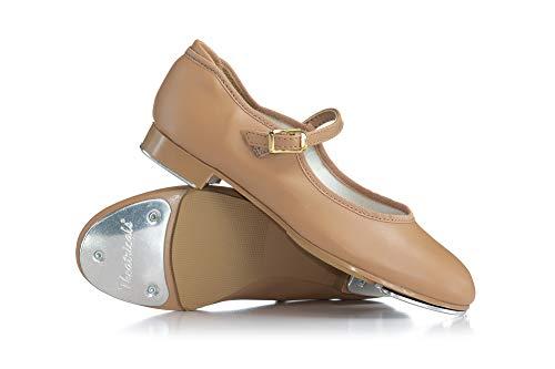 Theatricals Child Slide Buckle Tap Shoes T9200CTAN01.0M Tan 1 M US Little Kid