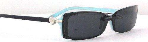 cc92f3afc03 TIFFANY TF2035-52X16 POLARIZED CLIP-ON SUNGLASSES (Frame NOT Included)   Amazon.co.uk  Health   Personal Care