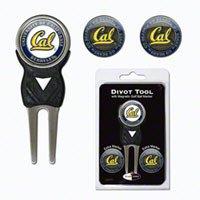 Universidad de California Golf arreglapiques W/Tres Bola de doble cara