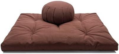 Amazon.com: Kapok o de algodón relleno de alforfón Hull Zafu ...