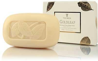 (Thymes Goldleaf Bar Soap 7 oz)