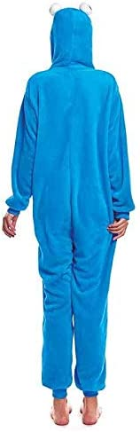 Disfraz Pijama Monstruo Azul Adulto Unisex (M) (+ Tallas ...