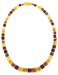 Genuine Natural Baltic Amber Necklace For Women