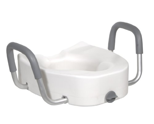 plastic elevated toilet seat