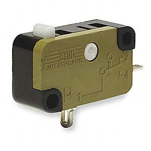 10A @ 240V Pin, Plunger Miniature Snap Action Switch; Series XG