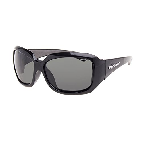 Bomber Women's Sugar Bombs Floating Sunglasses Polarized Black/Smoke - Sunglasses Sugar &