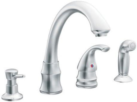 Chrome Kitchen Faucet Moen Inc 87787 Touch On Kitchen Sink
