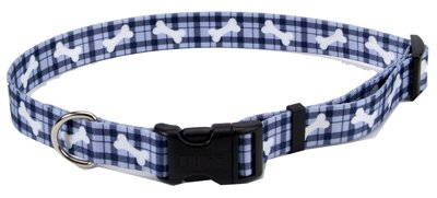Coastal Pet 06902 A PBO26 Adjustable Collar, 1-Inch, Bone