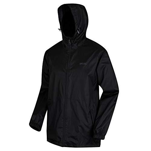 (Regatta Pack-It III Waterproof Jacket - SS19 - X Large - Black)