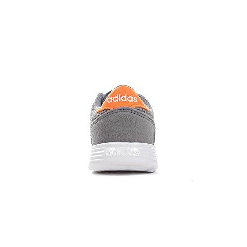 adidas Unisex Baby Lite Racer Inf Gymnastikschuhe Grau (Grey Three F17/ftwr White/hi-res Orange S18)