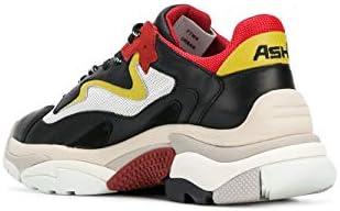 Ash Luxury Fashion Femme ADDICT05 Noir Cuir Baskets | Printemps-été 20