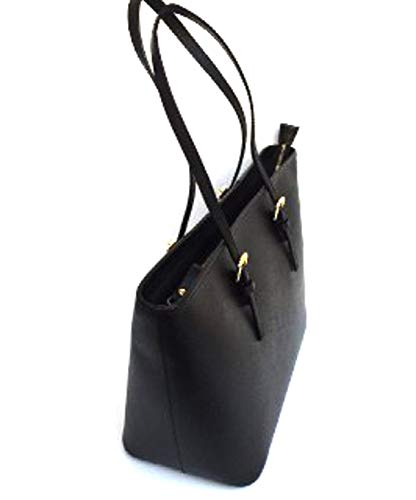 Superflybags Mujer Hombro Bolso Negro Xl Para Al 080xr