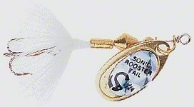 Wordens Sonic Rooster Tail Lure, 1/16-Ounce, White ()