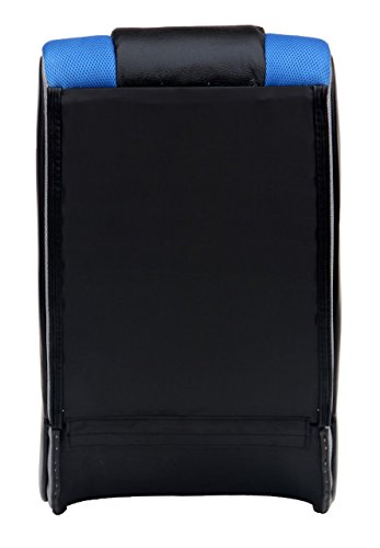 Blue X Rocker V Rocker SE Black Foam Floor Video Gaming Chair for Adult