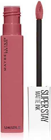 Maybelline New York Super Stay Matte Ink Lip Color, Lover, 0.17 Fluid Ounce