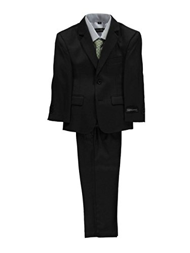 Kids World Little Boys'Titchwell 5-Piece Suit - Dark Olive, 7 by Kids World (Image #3)
