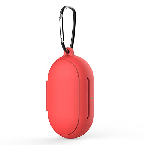 LULLABY Bluetooth Earphone Silicone Case Compatible with Samsung Galaxy Buds Plus 2019 RED (Headset Not Included)