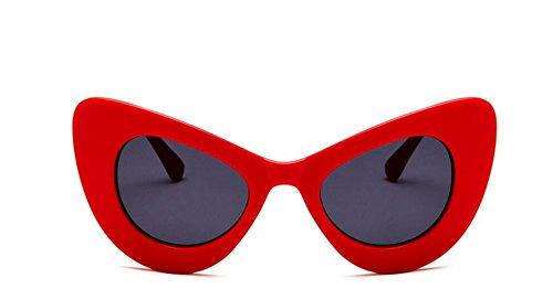 rétro Eye UV400 de nbsp;Lunettes Papillon Femme Soleil Feeling Soleil Red Cadre Outdoor Cat de Voyage joy Lunettes 5qB0wXp7