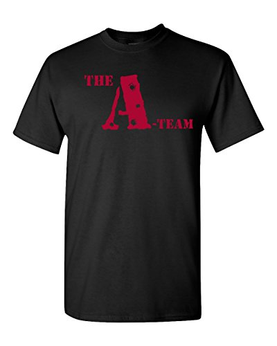Ptshirt.com-19140-Jacted Up Tees The A-Team Classic 80\'s Front & Back Men\'s T-Shirt - SHIPS FROM OHIO USA-B01FTBAP18-T Shirt Design