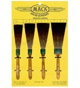 Mach Brush 0 Broadliner Fill-In, Touch-Up pinstriping brush by Mack