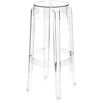 control brand the ghost bar stool clear