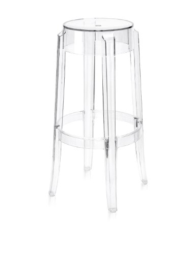 Control Brand The Ghost Bar Stool, Clear For Sale
