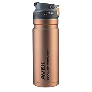 AVEX ReCharge Autoseal Stainless Steel Tumbler, Copper, 600 mL/20 oz