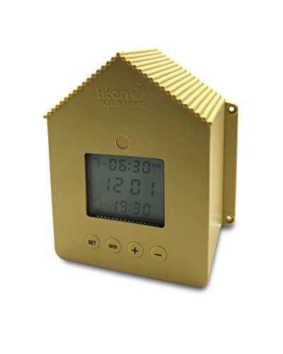 Titan Incubators New Automatic Chicken Coop/House Door Opener/Closer Timer Unit - Upto 2.2Lb Door Lift
