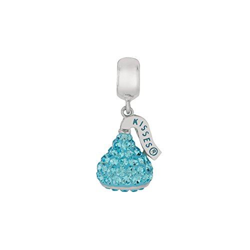 Charm Dangle Necklace - HERSHEY'S Kisses Dangle Necklace/Bracelet Charms For Women, 925 Sterling Silver
