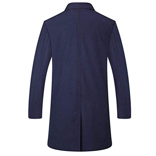 Pose Vêtements Trench Confortable Mariage Breasted Ank Marine Automne Blazer Single Vestes Taille coat Men Hiver 2 p70qqwZ5