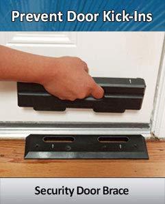OnGUARD Door Reinforcement | Door Jammer | Door Barricade | Prevents Home Violent Invasions & Burglaries| Stop Door Kick ins | Withstands 3000 Lbs