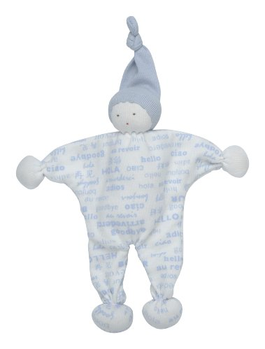 Under The Nile Baby Buddy Hello Toy, Blue, Baby & Kids Zone