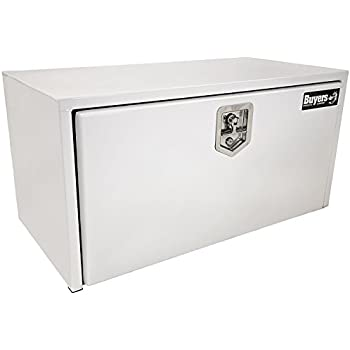 Amazon.com: Buyers Products White Steel Underbody Truck Box w/T-Handle Latch (18x18x36 Inch