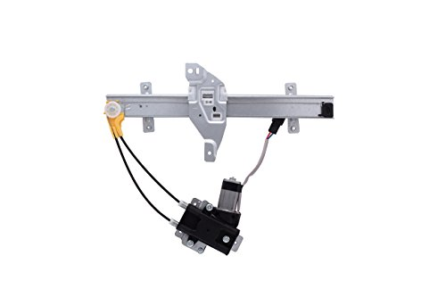 HANSUN 8803-0033 Power Window Regulator With Motor Rear Left Driver Side For Buick Oldsmobile - Century Regal Intrigue - (Oldsmobile Intrigue Rear Window Regulator)