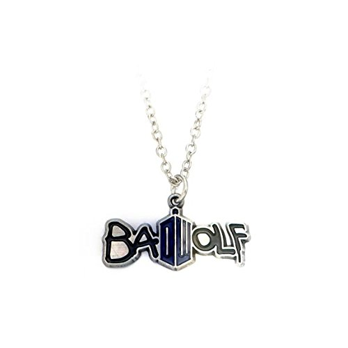 Doctor Who Bad Wolf Delicate Chain (Bad Wolf Dr Who Costume)
