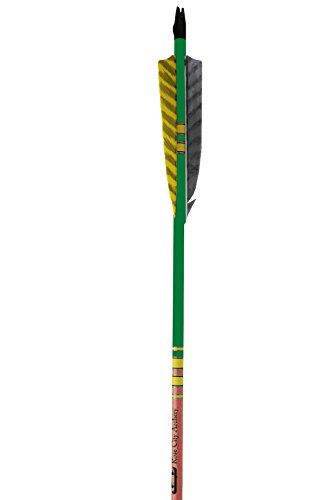 Rose City Archery Port Orford Cedar Extreme Elite Arrows with Clear Lacquered Shaft, 3