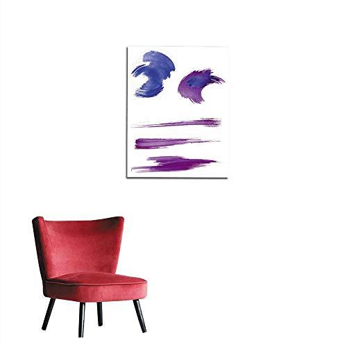 - longbuyer Wallpaper Texture of The Brush Stroke Mural 24