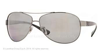 fd1593cb90c Ray-Ban - RB3386 - Gunmetal Frame- Polarized Gray Mirror Silver ...