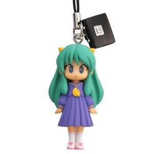 Urusei Yatsura Lum Figure ~Capsule Q ~Fortune Figure Cell Phone Charm Strap~#4 School Uniform