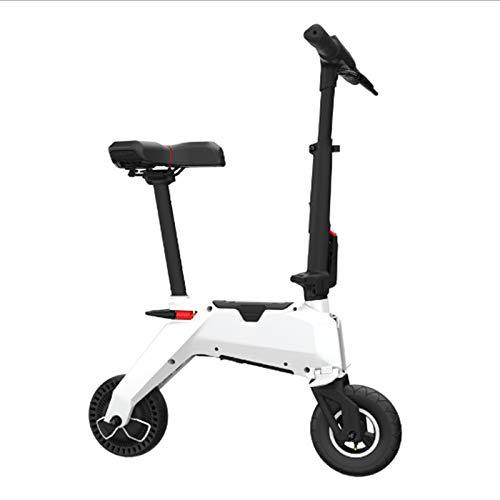 Señoras Bicicleta eléctrica de Dos Ruedas Bicicleta eléctrica con batería extraíble 46V 250W portátil Plegable Mini…