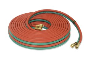 Twin Welding Hose Hoses 1/4'' x 50Ft. 300PSI