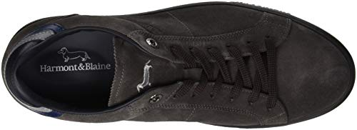 Scarpa Sneaker Uomo asfalto Marrone Harmont amp; Blaine 510 BSxqUTn7