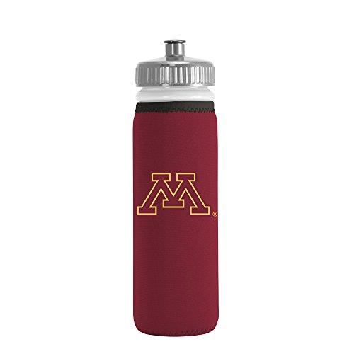 NCAA Minnesota Golden Gophers Van Metro Squeezable LDPE Water Bottle, Maroon, 22-Ounce