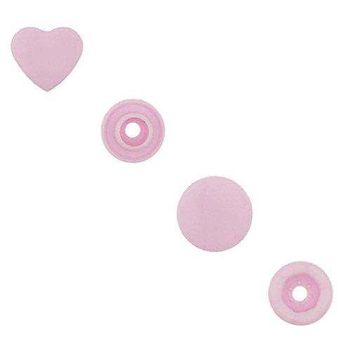 Hearts Pink Bib - 4