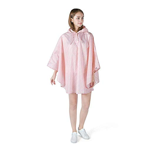 Poncho Poncho Poncho Gear Unisex Rain Pink Impermeabile Impermeabile Impermeabile Impermeabile Hooded Raincoat Rainwear Poncho Elodiey Anni Rain 4HqwSHT