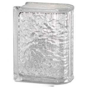 Quality Glass Block 6 x 8 x 4 IcesScapes End Block Glass Block