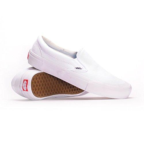 Vans Slip-On Pro (Andrew Allen/White) Men's Skate (Allen Slip On)